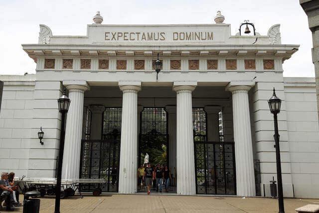 Entrance to Recoleta