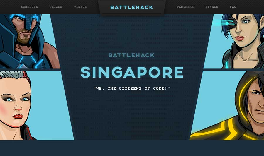 Battlehack Singapore 2015