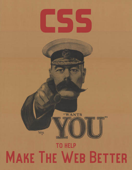 Join the force of developers who contribute to CSS