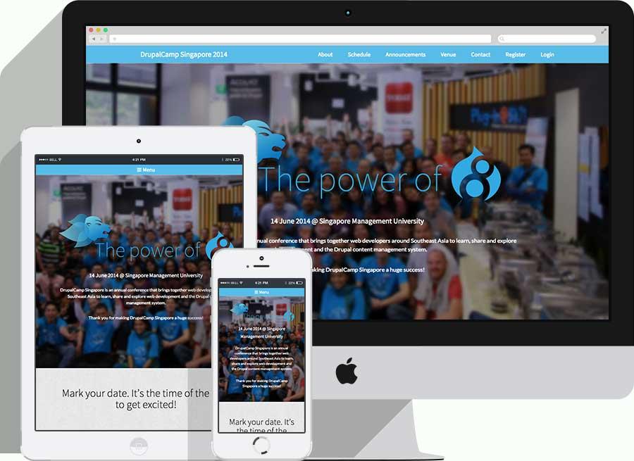 DrupalCamp Singapore 2014 website