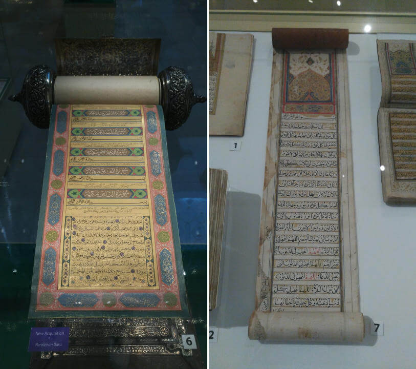 Scrolls, another type of manuscript
