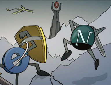 IE versus Netscape