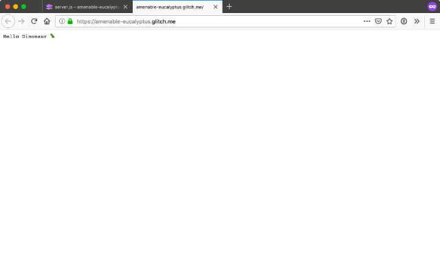 Check that Koa.js is running fine