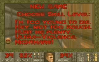 Doom skill levels