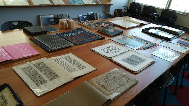 Collection at the Letterpress Archive