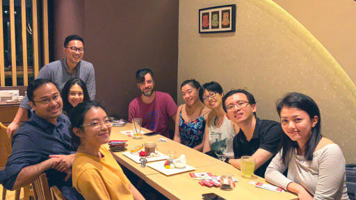 JSConf.Asia 2019 organising team