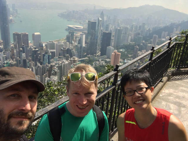 Hiked around Victoria Peak
