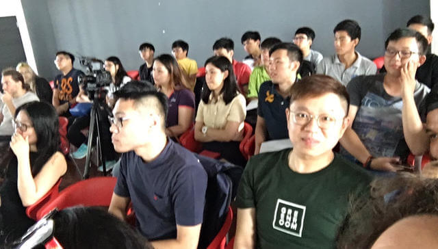 Audience at the Penang event