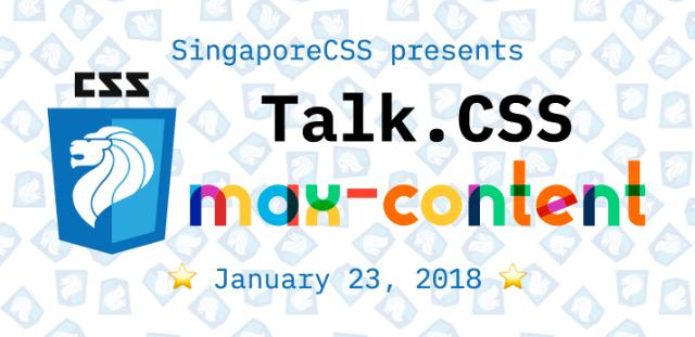 Talk.CSS #24 banner