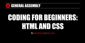 Coding for beginners: HTML and CSS