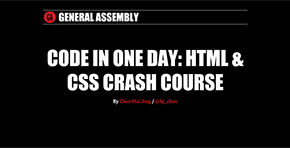 Code in One Day: HTML & CSS Crash Course