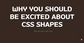 Why you should be excited about CSS shapes