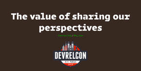 The value of sharing our perspectives